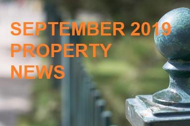 September 2019 UK & West Midlands Property Market News